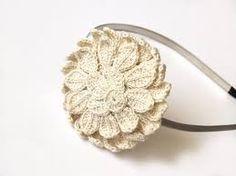 diadema hojas crochet - Buscar con Google