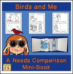 "FREE SCIENCE LESSON - ""Birds And Me: Comparative Mini-Booklet FREEBIE"" - Go to The Best of Teacher Entrepreneurs for this and hundreds of free lessons. Pre-Kindergarten - 2nd Grade   http://www.thebestofteacherentrepreneurs.org/2017/03/free-science-lesson-birds-and-me.html"