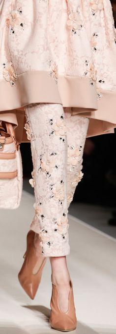 Blumarine Fall 2013 RTW, fashion, detail, close up, embellished, couture, catwalk