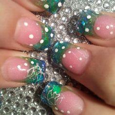 Ocean nails by Tara @ B'Polished Nail Studio