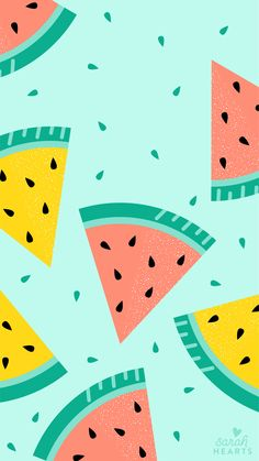 July's IPad Lockscreen Calendar Wallpaper, Heart Wallpaper, Wallpaper Iphone Cute, Screen Wallpaper, Cute Wallpapers, Wallpaper Backgrounds, Ipad Lockscreen, Watermelon Wallpaper, Motif Simple