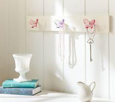 Crystal Butterfly Peg Rack | Pottery Barn Kids