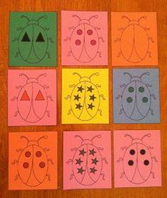 Spring Bug Sorting Cards Preschool Lesson Plan Alp Alp Alp Colwell use with Venn diagram Preschool Themes, Preschool Lessons, Preschool Activities, Morning Activities, Insect Activities, Action Cards, Spring Theme, Bugs And Insects, Bee Theme
