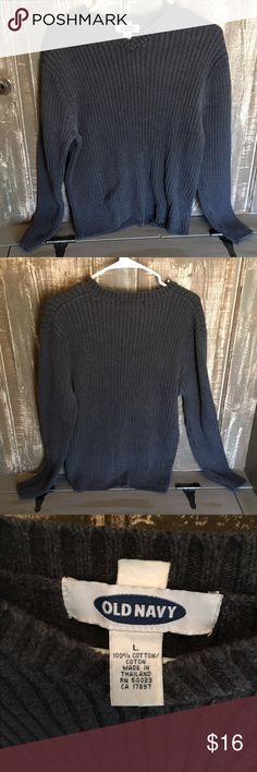 ❗️price drop❗️Men's Sweater Gray, good condition Old Navy Sweaters