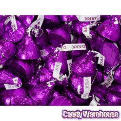 bulk purple hershey kisses   Home Colors Purple Candy Purple Hershey's Kisses Dark Chocolate Candy ...