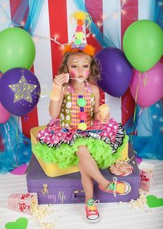Clown mignon costume-clown-costume clown par CrystalStarrDesign