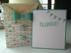 Celebrate Today and Mini Treat Bag Thinlit! by Anne-Marie Jeuken - Cards and Paper Crafts at Splitcoaststampers