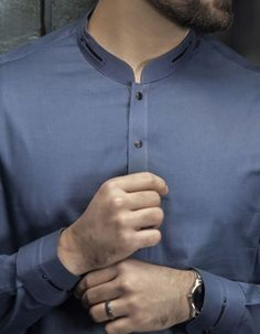 Stylish Junaid Jamshed Men's Kurta For Yr 2019 Styles for Semi formal Wear African Wear Styles For Men, African Attire For Men, African Clothing For Men, Mens Clothing Styles, Gents Kurta Design, Boys Kurta Design, Kurta Pajama Men, Kurta Men, Designer Suits For Men