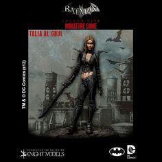 Knight Models - Batman Arkham City: Talia al Ghoul (Preorder)