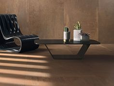 Find out all of the information about the COTTO D'ESTE product: indoor tile / wall / floor / porcelain stoneware METAL : CORTEN. Wall Texture Design, Desk Lamp, Table Lamp, Stone Cladding, Grand Format, Tile Projects, Inside Design, Wall And Floor Tiles, Textured Walls