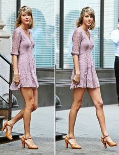 Taylor Swift leaving her apartment in New York. 07/13/15