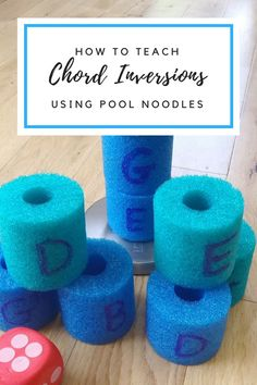 "Best Way To Learn Piano Using pool noodles and whole lot of ""hands on"" to teach chord inversions! Perfect off-bench activity for kids who need to move! Piano Lessons, Lessons For Kids, Music Lessons, New Things To Learn, How To Memorize Things, Music Theory Games, Music Games, Piano Teaching, Learning Piano"