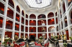 ★★★★★ Le Regina Biarritz Hotel & Spa MGallery by Sofitel, Biarritz, France Hotels In France, Biarritz, Hotel Spa, Street View, Mansions, Luxury, House Styles, Golf, Inspiration