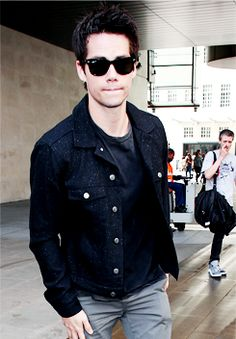 Dylan O'Brien seen at BBC Radio One (07.09)