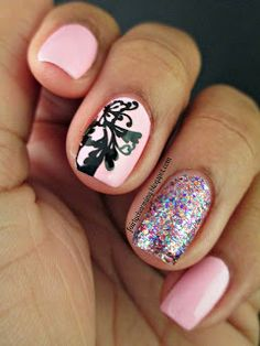 Love Love this shade of PINK! That's all I like about these nails! Get Nails, Matte Nails, Love Nails, How To Do Nails, Pretty Nails, Pink Nail Designs, Creative Nail Designs, Creative Nails, Plain Nails