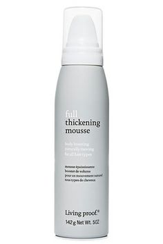 Our Fave Pre-Teen Trends, All Grown Up #refinery29  LIVING PROOF FULL THICKENING MOUSSE, $15, AVAILABLE AT ULTA.