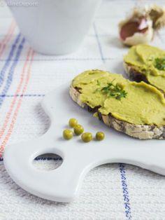 Green hummus / Houmous vert / Lime Cream, Garlic Press, Hummus, Green