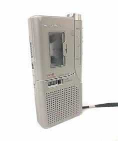 Sony VOR Micro cassette recorder M-637V - tested working