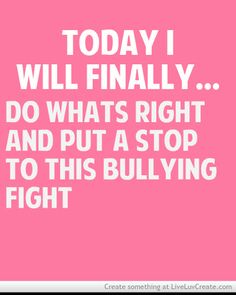 bullying inspirational quotes - Google Search