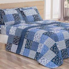 Jogo-de-Cama-Casal-Micropercal-4-Pecas-260-Fios-Jardim-Blue