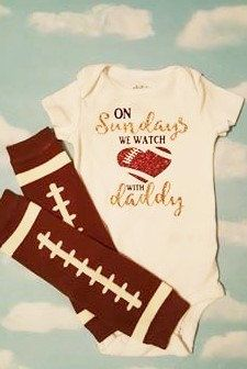 Check out this item in my Etsy shop https://www.etsy.com/listing/484388471/on-sundays-we-watch-football-with-daddy