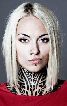 Tattoo Model - Teya Salat