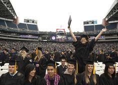 UW concluded its anniversary with a memorable graduation ceremony at Century Link field in downtown Seattle. The graduates were sent off with inspiring words from Lisa Jackson the administrator of EPA. University Of Washington, Seattle Washington, Century Link, Nita Ambani, Centurylink Field, Downtown Seattle, Jackson, How To Memorize Things, Graduation