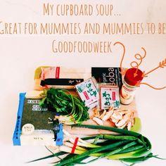 Recipe: inside my cupboard soup