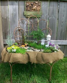 The most amazing fairy garden!