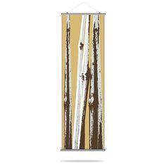 Bamboo Canvas Wall Art Aqua - BAMAQ_5434C