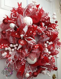 595 Best Christmas Holiday Wreaths Images In 2018 Christmas