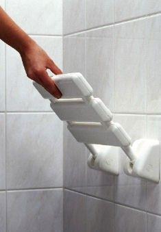 siège de douche design rabattable pour pmr à la fois