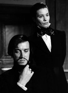 """Max von Sydow and Ingrid Thulin in """"The Magician"""" (1958) - Ingmar Bergman"""