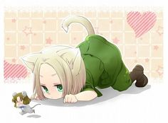 Hetalia - Poland and Lithuania : Cat and Mouse Game