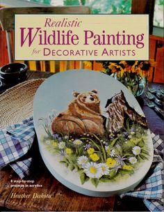 Wildlife Painting for Decorative Artist by Heather Dakota