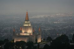 This Oakland temple glistens brightly every night, even in foggy rainy weather. Never visited this place, but it always my eye when I look out the car window.