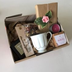 The Relax & Read Box by MysteryBoxBooks on Etsy