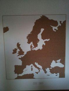 Cork eu map
