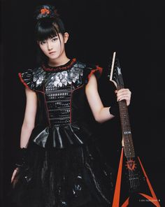 Hi-res scans from May 5 issue of Young Guitar - Click image Young Guitar, Japon Tokyo, Guitar Magazine, Guitar Girl, Metal Girl, Music Love, My Favorite Music, Kawaii Fashion, Cosplay Girls