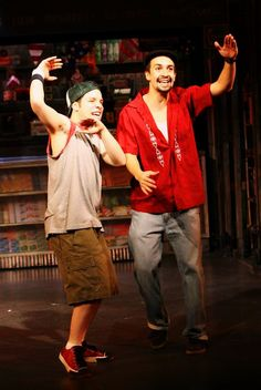 Usnavi and Sonny Theatre Nerds, Music Theater, Broadway Theatre, Broadway Plays, Las Vegas, Dear Evan Hansen, Lin Manuel Miranda, Les Miserables, Sound Of Music
