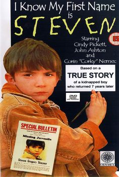 I Know My First Name Is Steven 1989 old Steven Stayner is kidnapped a few… Steven Stayner, Innocent Child, Youtube Movies, Lifetime Movies, Losing A Child, Sad Stories, Family Movies, Happy Endings, Old Movies