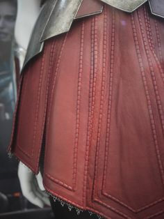 Costume worn by Jamie Alexander as Sif in the film 'Thor: The Dark World'