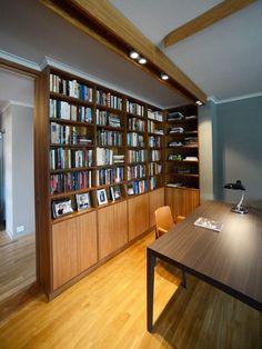 Bookshelves of teak vagane-viste.no