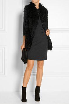 Diane von Furstenberg | Emmie gathered wool-jersey dress | NET-A-PORTER.COM