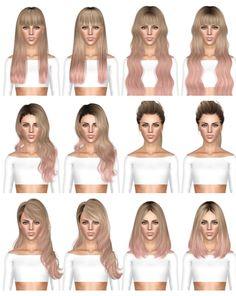 HAIR DUMP 9 by July Kapo for Sims 3 - Sims Hairs - http://simshairs.com/hair-dump-9-by-july-kapo/