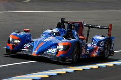 Signatech Alpine Nissan at the 24 Hours of #LeMans