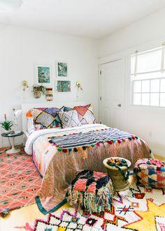 Boho style bedroom Inspiration