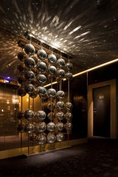W Hotel London Leicester Square designed by Concrete Architectural Associates Philippe Starck, Exterior Design, Interior And Exterior, W Hotel, London Pictures, London Hotels, Hospitality Design, Modern Industrial, Chandelier Lighting