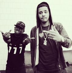 kendrick and j cole<3
