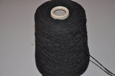 1 spool 700 g cashmere yarn grau 2,6 number metric knitting  on a cone
